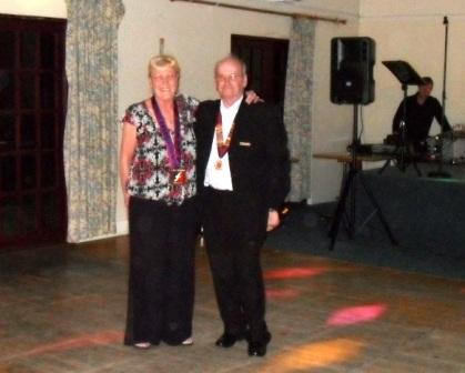 09. New Chairman Alan  Wife Trish