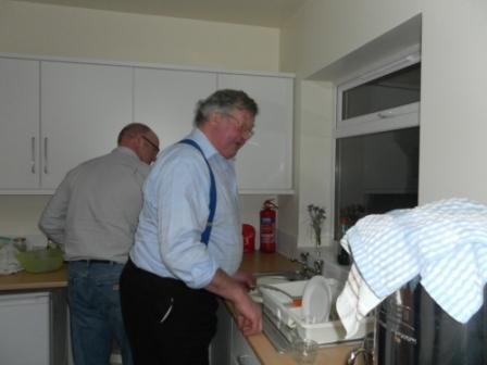 08. Rex  Harold get busy in the kitchen
