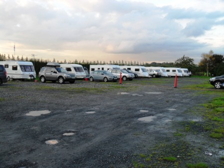 01. Great to see the vans all lined up