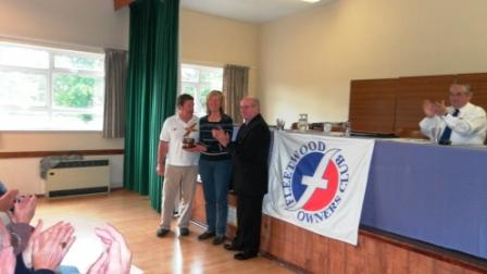 03. Friendship award is presented to Allan  Jackie