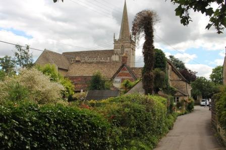 23. The church at Lacock