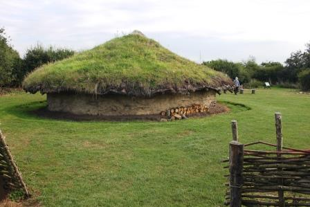 11. Iron Age Round House at Flag Fen site