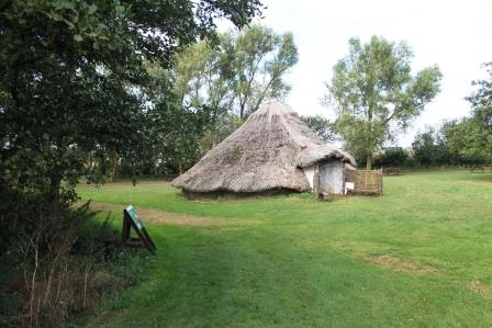 12. Bronze Age Round House at Flag Fen site