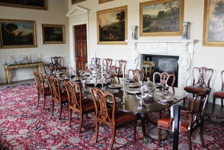 16. Kedleston - dining room