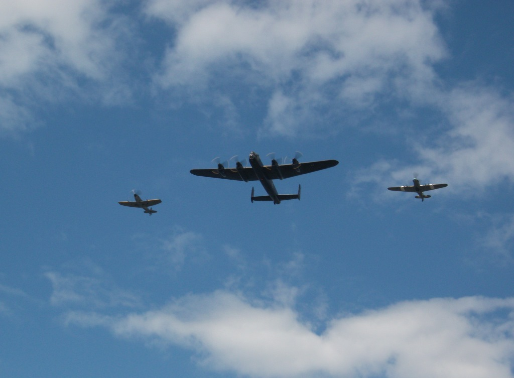 15. Battle of Britain Fly past