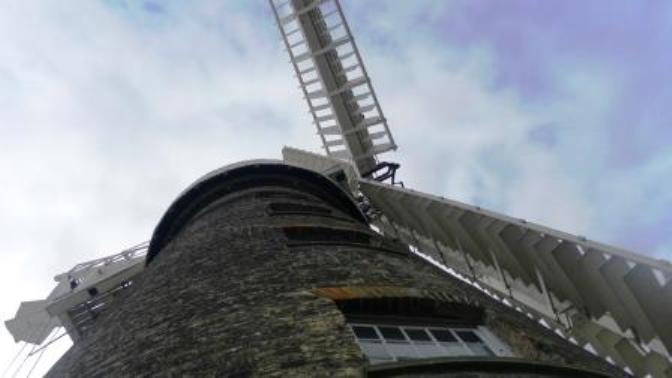 04. Some of us went to Moulton Windmill