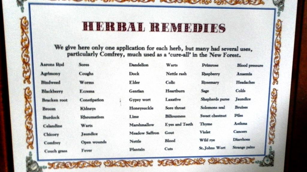 47. The Romanys used many herbal remedies