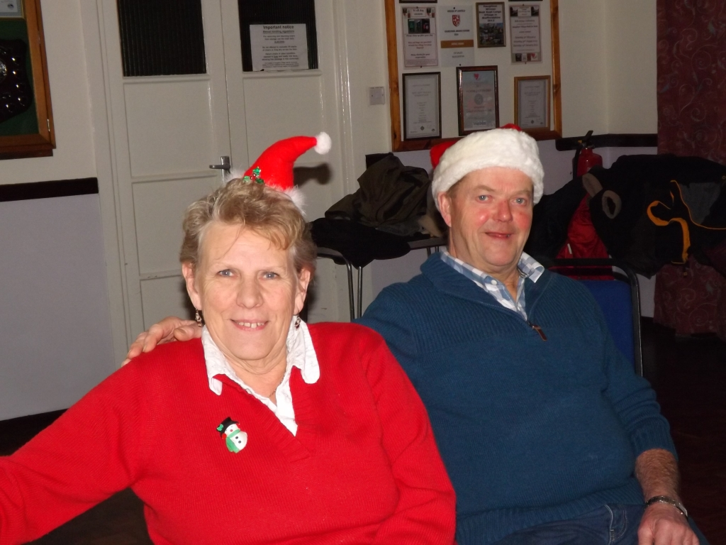 44. Wendy and Phil in the Christmas mood