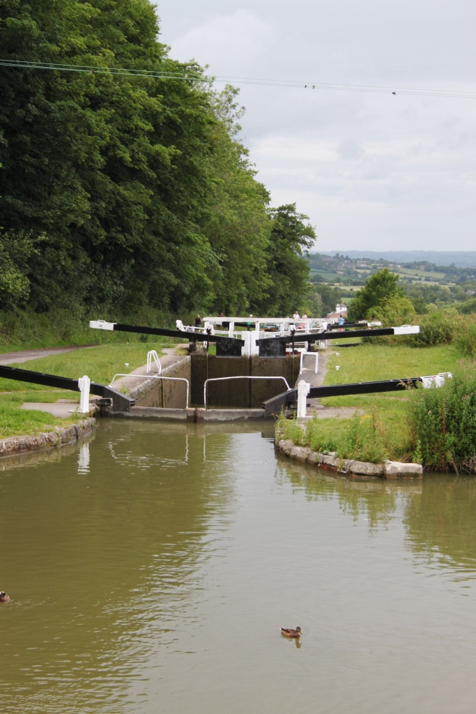 37. Caen Hill Lock Flight