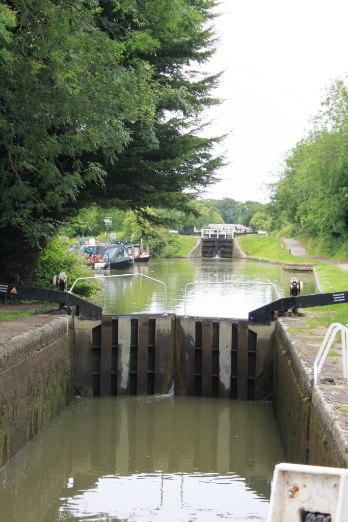 38. Caen Hill Lock Flight