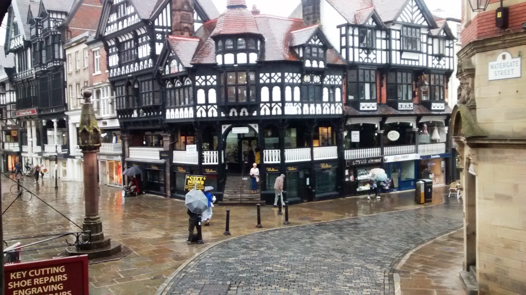 21. Rainy day in Chester