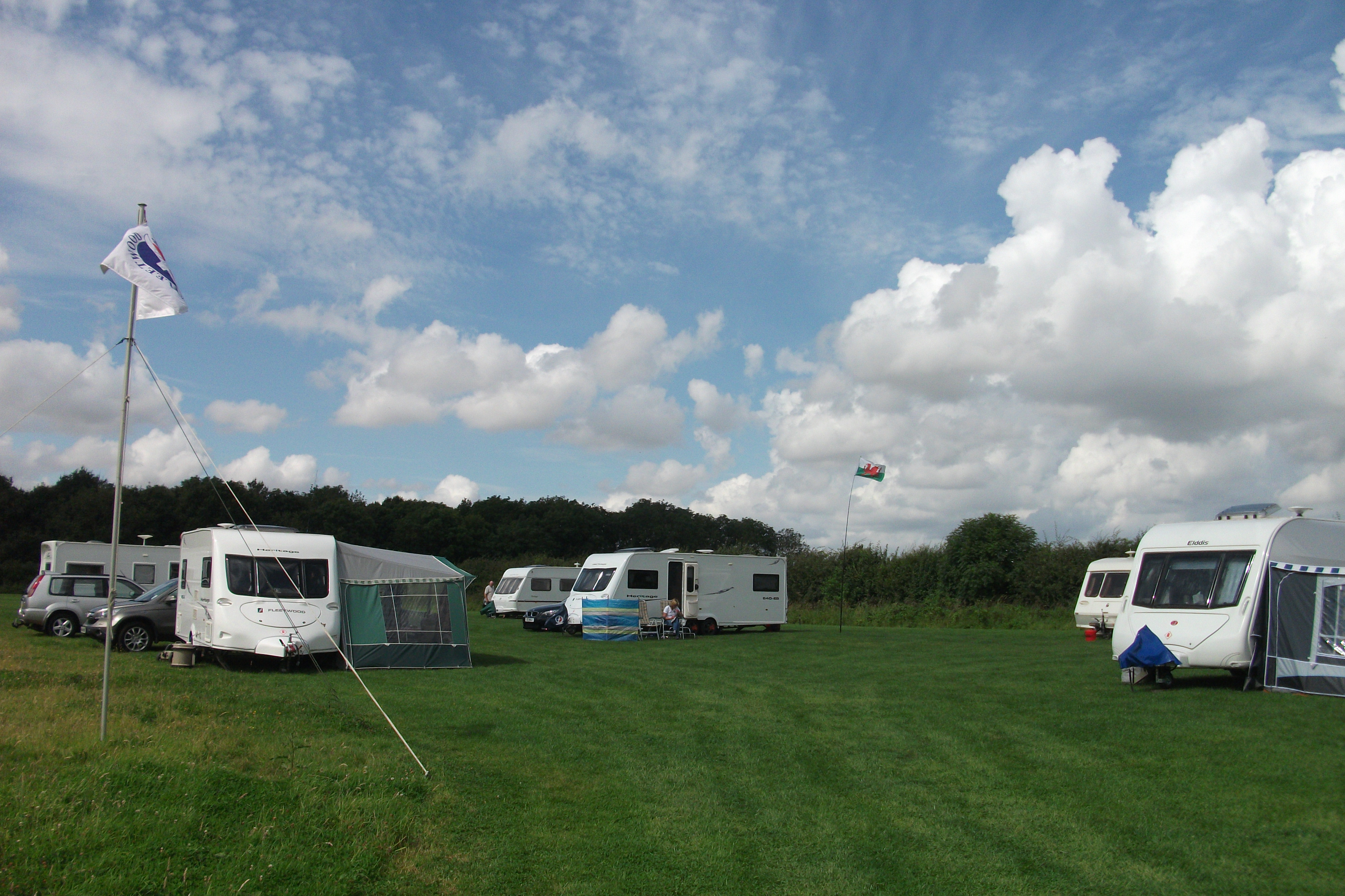 13. Clouds over the rally field at Metheringham