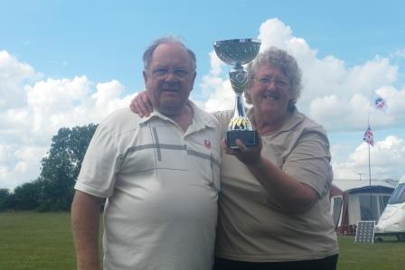 22. This years winners Ray and Shelia