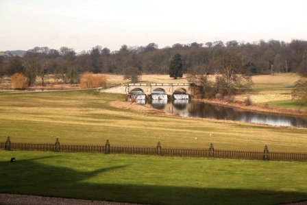 14. Kedleston - view from The Hall