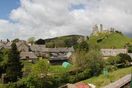 17. Corfe village from the steam train