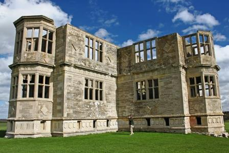 40. Lyveden New Bield - from the other side -