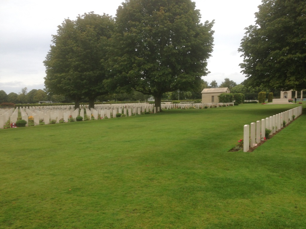 14. Canadian and British war graves