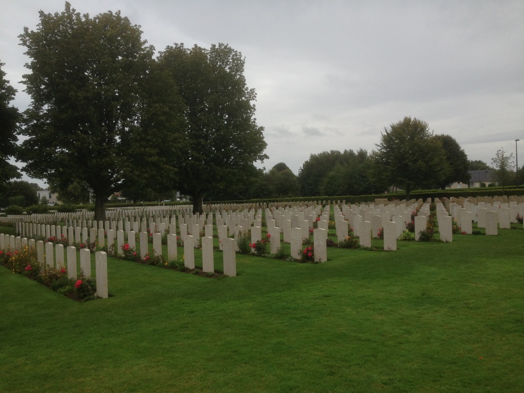 15. Canadian and British war graves