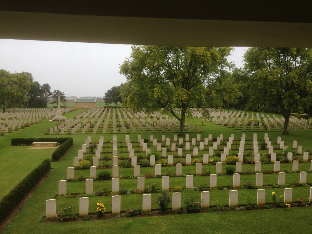 16. Canadian and British war graves
