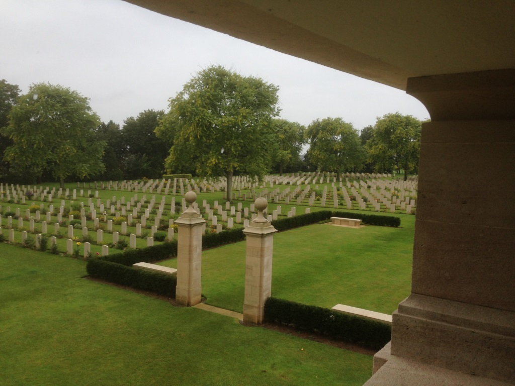 18. Canadian and British war graves