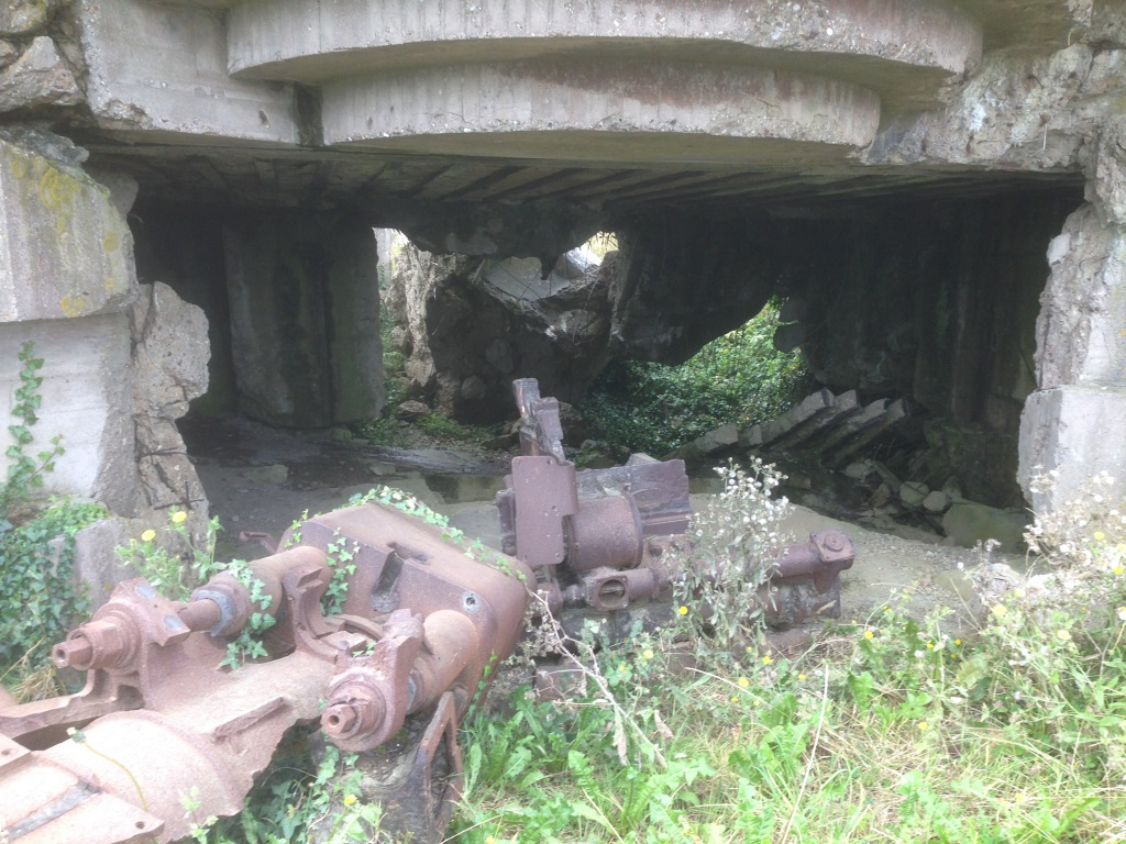 19. Remains of WW11 gun