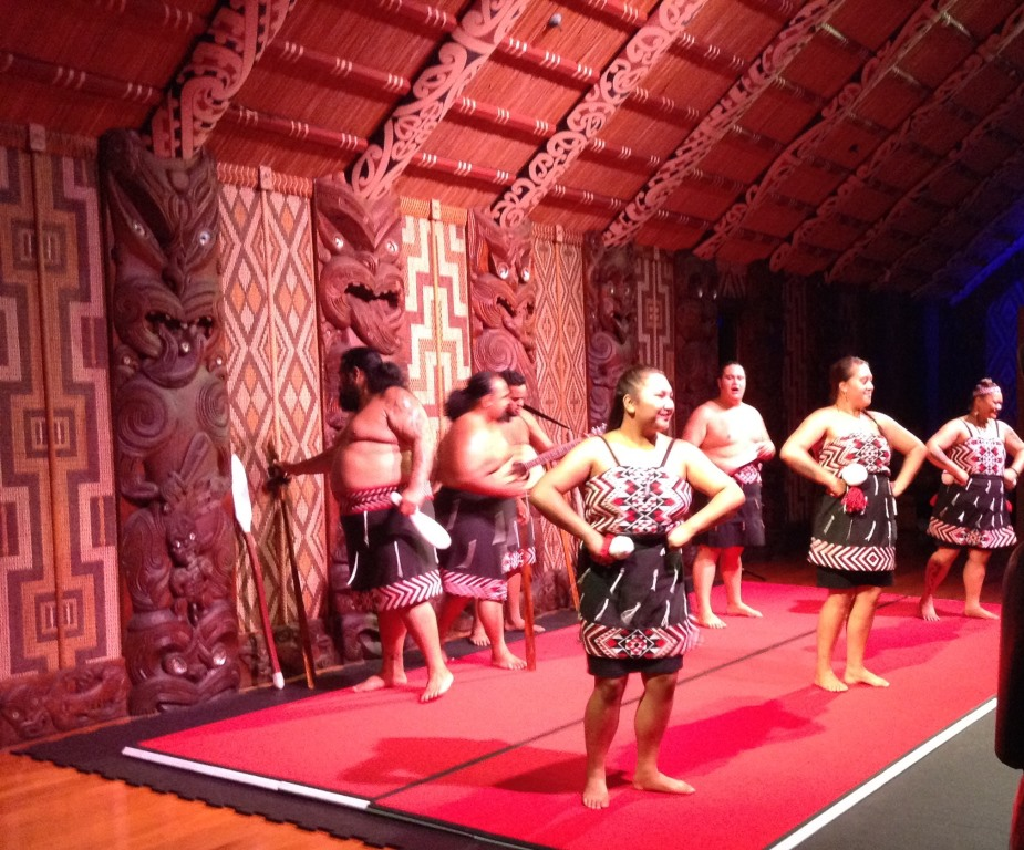 13. Maori dancers at the Treaty Grounds