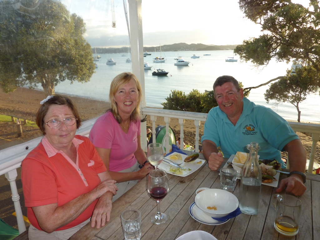 15. Dinner at the Swordfish Club at Russell