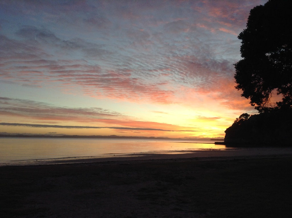 23. Sunset over Eastern Beach Auckland