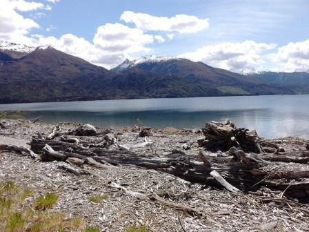 26. Lake Wanaka at Boundary Creek too