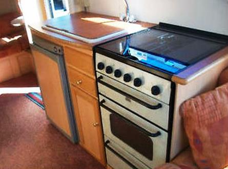 2003 Admiral 450-5 Cooker