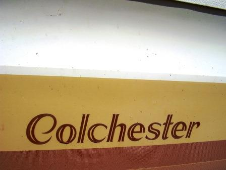 1988 Colchester model logo