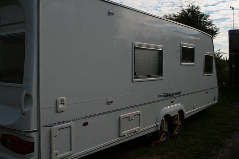 2006 Heritage 640-CB Side from rear