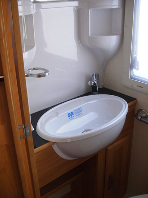 2008 Heritage Washrom sink