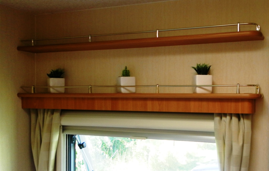 2001 Java Bathroom shelving