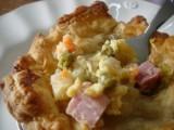 Ham, Cheese & Potato Pie